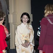 NLD/Den Haag/20181023 - Prinses Akishino en prinses Margriet Centennial Dinner, Prinses Akishino en Prinses Margriet
