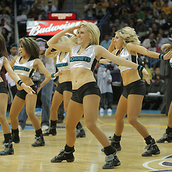 23 December 2008:  during a 100-87 loss by the New Orleans Hornets to the Los Angeles Lakers at the New Orleans Arena in New Orleans, LA. .