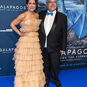 NLD/Amsterdam/20191028 - Koninklijk bezoek Premiere Galapagos, Annechien Steenhuizen en Evert van den Bos