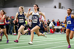 David Hemery Valentine Invitational<br /> Indoor Track & Field at Boston University , womens 60 meters, heat 4, TCNJ,