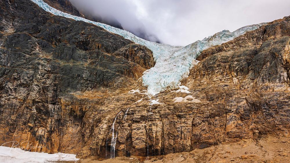 The Angel Glacier, Mount Edith Cavell, Jasper National Park, Alberta Canada
