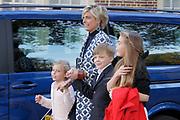 Doop Willem Jan ( 01-07-2013), zoon van Prins Floris en Prinses Aimee oppaleis het Loo<br /> <br /> Christening of Willem Jan ( 01-07-2013), son of Prince Floris and Princess Aimee on palace het Loo<br /> <br /> Op de foto / On the photo: Prinses Laurentien en Gravin Eloise en Graaf Claus-Casimir en Gravin Leonore / Princess Laurentien and Countess Eloise and Count Claus-Casimir and Countess Leonore