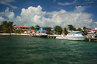 Belize in Central America is an eco-tourism and diving haven. It has the only atolls in the Caribbean.