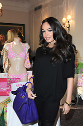 TAMARA ECCLESTONE at a shopping afternoon hosted by Amanda Kyme and Tamara Beckwith featuring designs from Elizabeth Hurley held at the Cadogan Hotel, 75 Sloane Street, London SW1 on 23rd November 2010.