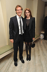 PRINCESS BEATRICE and DAVE CLARK at the second night of the Tomodachi (Friends) Charity Dinners hosted by Chef Nobu Matsuhisa in aid of the Japanese committee for UNICEF held at Nobu Berkeley, Berkeley Street, London on 5th May 2011.