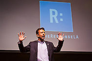 """Louisiana Gov. Bobby Jindal speacking to a crowd  at """"The Response' in Baton Rouge- An all day prayer on LSU's campus."""
