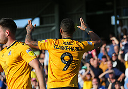 Jonson Clarke-Harris of Bristol Rovers celebrates scoring to make it 1-2- Mandatory by-line: Arron Gent/JMP - 21/09/2019 - FOOTBALL - Cherry Red Records Stadium - Kingston upon Thames, England - AFC Wimbledon v Bristol Rovers - Sky Bet League One