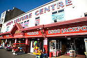 Seaside amusement arcade, Scarborough, Yorkshire, England