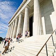 Exterior of Lincoln Memorial