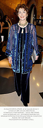 Actress MAUREEN LIPMAN  at an awards dinner in London on 28th January 2003.PGS 42