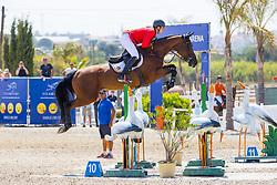 Philippaerts Anthony, BEL, J'Adore van het Schaeck<br /> FEI Jumping European Championships for Young Riders, Juniors, Children - Vilamoura 2021<br /> © Hippo Foto - Leanjo de Koster<br /> 21/07/2021