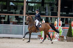 Aarts Elisah, NED, Kayne E<br /> Nationaal Kampioenschap KWPN<br /> 5 jarigen springen final<br /> Stal Tops - Valkenswaard 2020<br /> © Hippo Foto - Dirk Caremans<br /> 19/08/2020