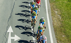 Team Slovenia during the Men Under 23 Road Race 179.9km Race from Kufstein to Innsbruck 582m at the 91st UCI Road World Championships 2018 / RR / RWC / on September 28, 2018 in Innsbruck, Austria.  Photo by Vid Ponikvar / Sportida