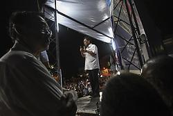 May 5, 2018 - Kuala Lumpur, Malaysia - Parti Warisan Sabah (PWS) President Datuk Seri Shafie Apdal speaks during a 14th General Election (GE14) campaign series at Pakatan Harapan and PWS talk in Lintas Jaya Kepayan on May 5, 2018. - Malaysia's 14th general election will be held on May 9. (Credit Image: © Shafiq Hashim/NurPhoto via ZUMA Press)