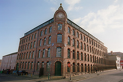 Russell Square; a former textile mill on Gamble Street in Radford; now converted to student accommodation,