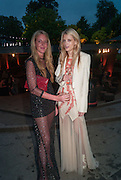 LUCINDA BELLM; REBECCA CORBIN-MURRAY, Serpentine Summer party 2012 sponsored by Leon Max. Pavilion designed by Herzog & de Meuron and Ai Weiwei. Kensington Gardens. London. 26 June 2012.