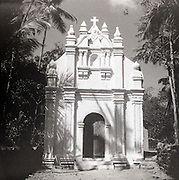 Chapel of St. Francis Xavier and connected buildings, Old Goa.<br /> Note: It's a chapel located on the former premises of the no-longer-existent Saint Paul's College (Not to be confused with Church and Convent of St. Francis Assisi nor Basilica of Bom Jesus)