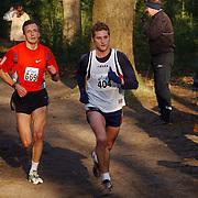BAV wintercup loop 2005 Baarn, Sander berk en Niels de Bruin