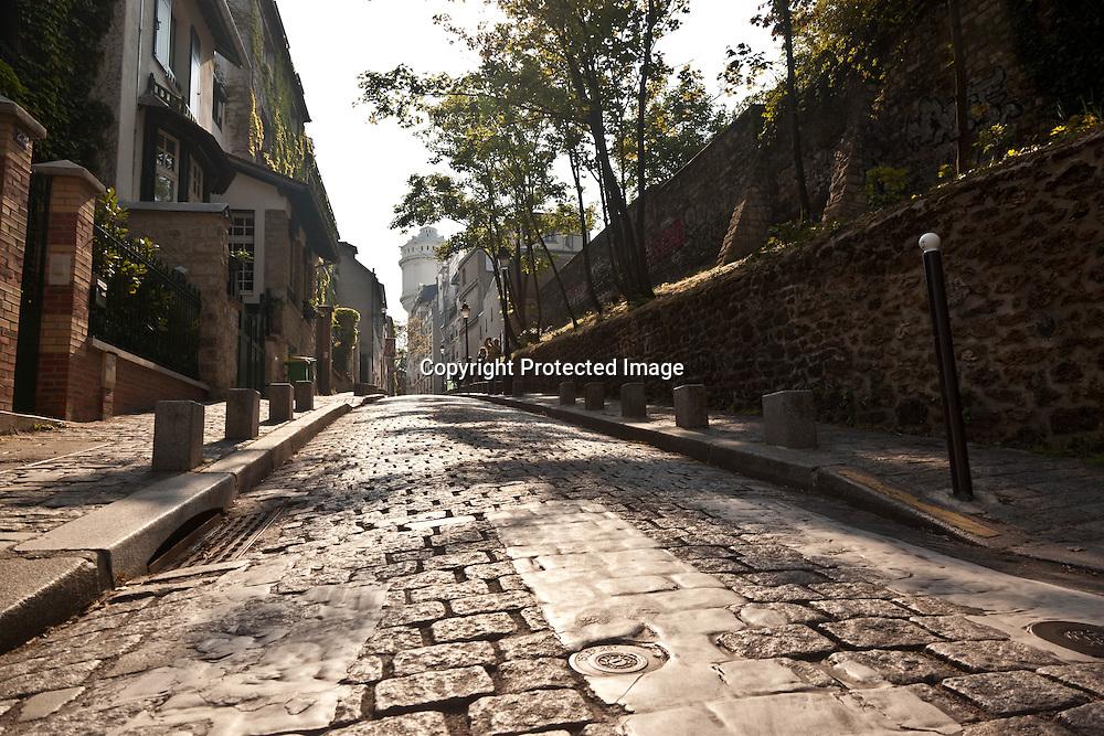 = Montmartre Hill Paris France ///  la colline de Montmartre , paris +