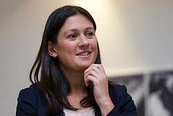 © Licensed to London News Pictures. 13/01/2020. London, UK. Labour leadership candidate, Lisa Nandy makes a  leadership speech at Londoneast-UK in Dagenham. Nominations from MPs and MEPs in the Labour leadership contest close this afternoon. Photo credit: Vickie Flores/LNP