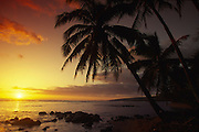 Sunset, Kauai, Hawaii<br />