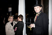 VIVIENNE WEST, First night party for Dandy In The Underworld which opened at the  Soho Theatre, 21 Dean Street. House Of St Barnabas, 1 Greek Street, 15 June 2010. -DO NOT ARCHIVE-© Copyright Photograph by Dafydd Jones. 248 Clapham Rd. London SW9 0PZ. Tel 0207 820 0771. www.dafjones.com.
