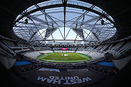 a General view of London Stadium before k/o. EFL Cup, 3rd round match, West Ham Utd v Accrington Stanley at the London Stadium, Queen Elizabeth Olympic Park in London on Wednesday 21st September 2016.<br /> pic by John Patrick Fletcher, Andrew Orchard sports photography.