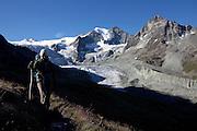 The Glacier du Moiry, Switzerland.