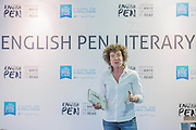 Jeanette Winterson launching her new book, The Gap of Time (part of a retelling Shakespear series) in front of a large audience. She then signed copies - The London Book Fair, celebrating its 45 year anniversary, is the global marketplace for rights negotiation and the sale and distribution of content across print, audio, TV, film and digital channels. Staged annually, LBF sees more than 25,000 publishing professionals arrive in London for the week of the show to learn, network and kick off their year of business. The London Book Fair sits at the heart of London Book & Screen Week, and runs from the 12-14 April 2016.