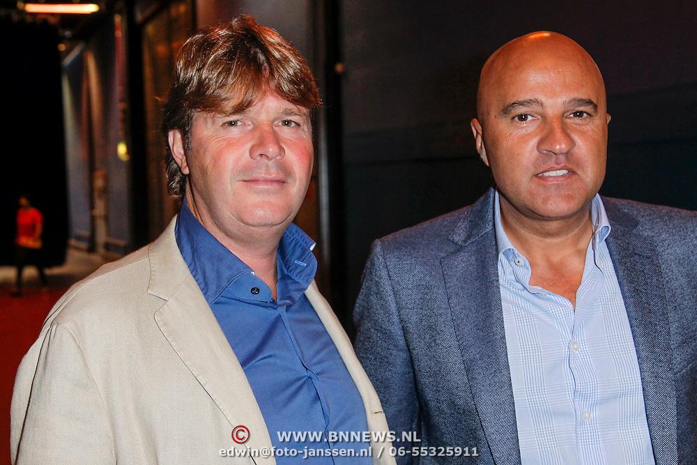 NLD/Hilversum/20120821 - Perspresentatie RTL Nederland 2012 / 2013, Peter Gallas en John van den Heuvel