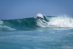 October 12, 2017 - Gabriel Medina (BRA) Placed 1st in Heat 8 of Round One at Quiksilver Pro France 2017, Hossegor, France..Quiksilver Pro France 2017, Landes, France - 12 Oct 2017 (Credit Image: © WSL via ZUMA Press)