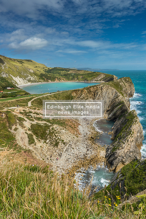 Lulworth Cove and  the Small Coves at Stair Hole in Dorset