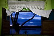 Belmonte_BA, Brasil...Vista da janela da pousada Beira Rio, com o rio Jequitinhonha ao fundo...The view from the Beira Rio hotel, with the Jequitinhonha river in the background...Foto: LEO DRUMOND / NITRO