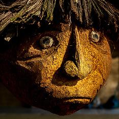 Coconut Shell Carvings, Ubud, Bali