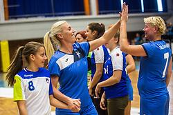 Deja Doler during Exhibition game of Slovenian women handball legends on 29th of September, Celje, Slovenija 2018