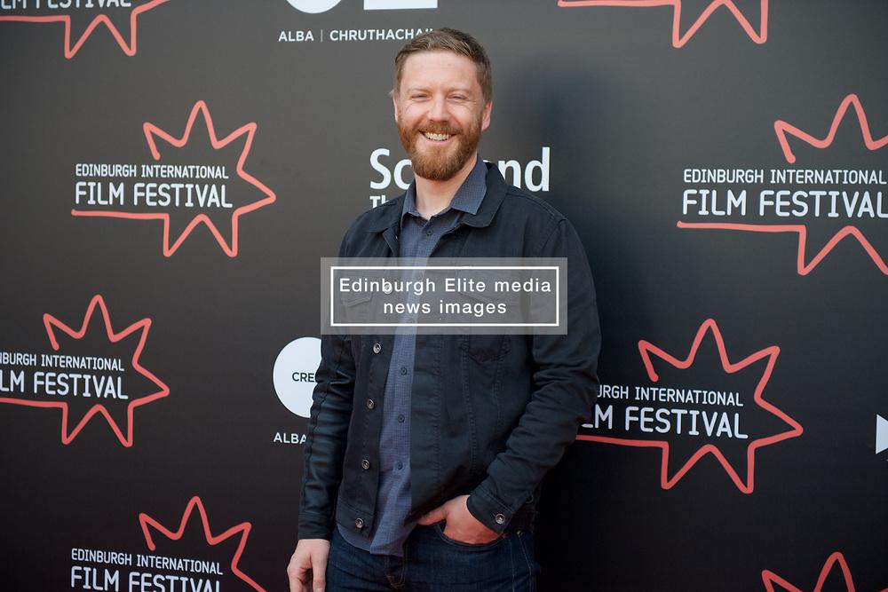 On the red carpet during the Edinburgh International Film Festival Premier of Daphne at Cineworld. Tristan Goligher, Friday 23rd June 2017(c) Brian Anderson | Edinburgh Elite media