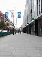 Oxford Street  in London's West End as the  Covid 19 lockdown is eased  photo by Brian Jordan