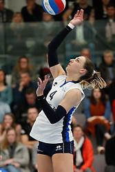 20180331 NED: Eredivisie Sliedrecht Sport - Regio Zwolle, Sliedrecht <br />Lea van Rooijen (4) of Sliedrecht Sport <br />©2018-FotoHoogendoorn.nl / Pim Waslander