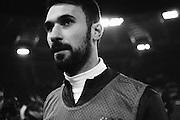 Mirko Vucinic durante Roma vs Juventus. Stadio Olimpico. 16 febbraio 2013. Christian Mantuano / Oneshot