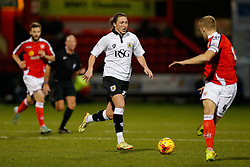 Luke Ayling of Bristol City in action - Photo mandatory by-line: Rogan Thomson/JMP - 07966 386802 - 20/12/2014 - SPORT - FOOTBALL - Crewe, England - Alexandra Stadium - Crewe Alexandra v Bristol City - Sky Bet League 1.