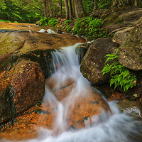 New England photography of Table Rock at Flume Gorge in the Franconia Notch State Park of the New Hampshire White Mountains.<br /> <br /> Gorgeous New Hampshire fine art photography of a Table Rock cascade in the New Hampshire White Mountains Franconia Notch State Park are available as museum quality photography prints, canvas prints, acrylic prints, wood prints or metal prints. Fine art prints may be framed and matted to the individual liking and interior design decorating needs:<br /> <br /> https://juergen-roth.pixels.com/featured/table-rock-at-franconia-notch-state-park-juergen-roth.html<br /> <br /> Good light and happy photo making!<br /> <br /> My best,<br /> <br /> Juergen