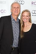 James Cameron, and Suzy Amis Cameron
