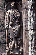 SPAIN, NORTH COAST, GALICIA Santiago de Compostela, King David
