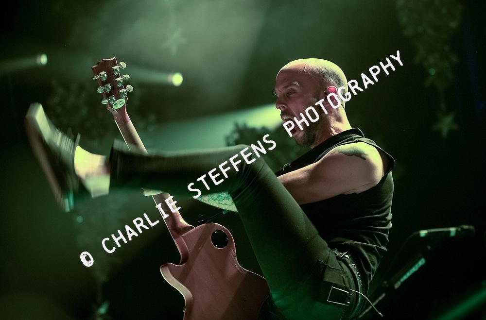 Zach Blair<br /> Rise Against<br /> Gibson Amphitheater<br /> Los Angeles, California
