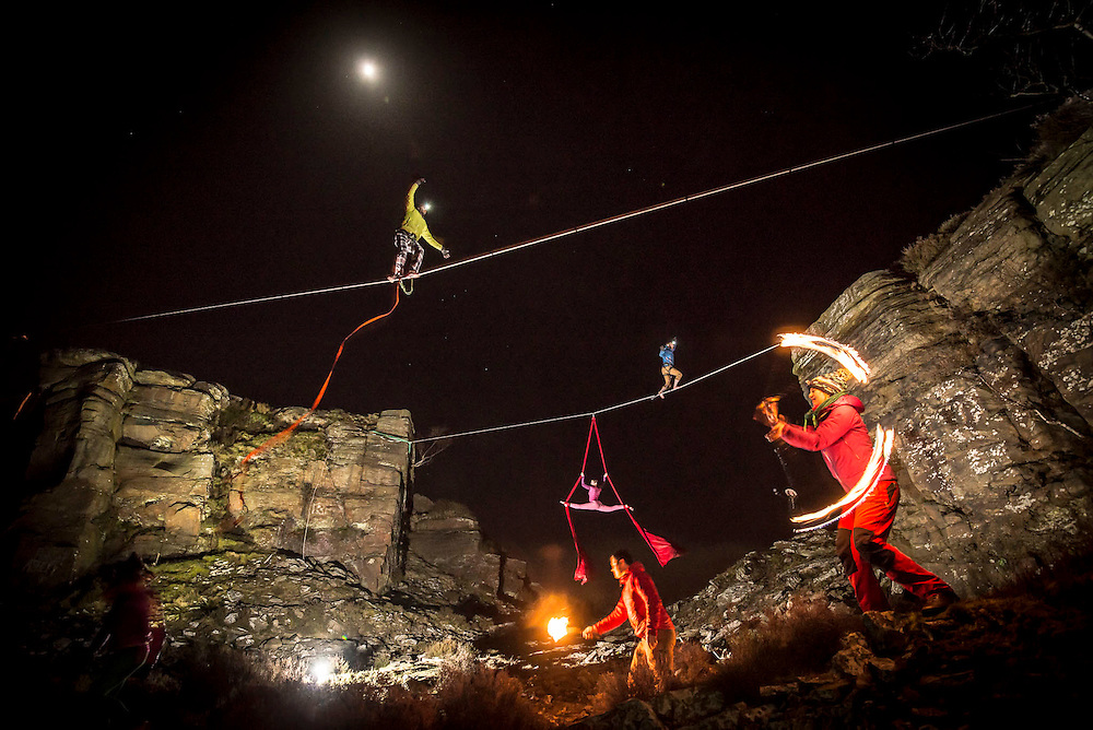 """Lines of Light Project II - The Tentsile Photoshoot - A collaborative project between Pedro Pimentel Visuals, the """"Aerial Addicts"""" and Tentsile Tents brand manufacturer to simultaneously mix outdoor and circus performances while lighting it all with a professional studio light mood. This was part two of our project where we added a professional gymnast and a fire blower to our bag of tricks and creative vision. For a short behind the scenes of how this shoot was check out this video on my youtube channel https://www.youtube.com/watch?v=Jez2UizPlYM    Enjoy!"""