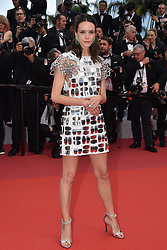 """Stacy Martin attends the screening of """"Oh Mercy! (Roubaix, une Lumiere)"""" during the 72nd annual Cannes Film Festival on May 22, 2019 in Cannes, France. Photo by Lionel Hahn/ABACAPRESS.COM"""