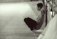 Vaganova School Student watching a rehearsal at the School