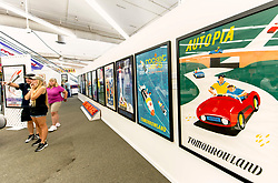 August 19, 2018 - Sherman Oaks, California, U.S. -  Van Eaton Galleries presents ''That's from Disneyland,'' a pop-up exhibition and two-day live and online auction, on August 25 and 26, of the Disney collectibles amassed by Richard Kraft.  Featuring original pre-1955 concept art, ride vehicles, props, attraction posters, paper goods, toys and more, the auction represents one of the largest collections of its kind in the world.(Credit Image: © Brian Cahn/ZUMA Wire)