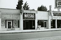 1975 Roman Massage Parlor on Hollywood Blvd.