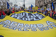 It is estimated that over a million people joined the Put it to the People March from Park Lane to Parliament. Organised by the Peoples-Vote.UK to demand that, whatever deal is finally agreed, that it is put to the people to finally decide upon.